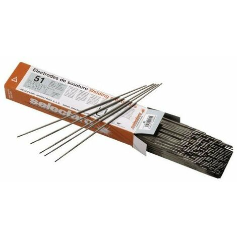Electrode acier rutile universelle 51 - diam 2 5 mm - etuide 281