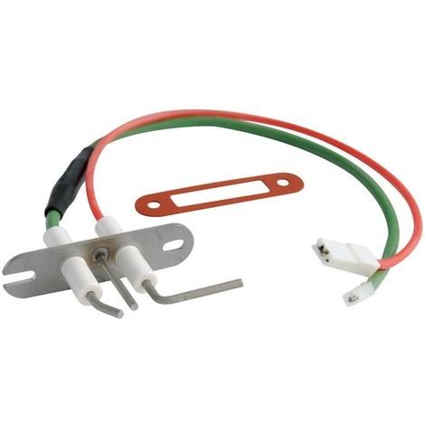 Electrode allumage + ionisation CD/EVO 25/30/32 07.14- TRAVI23 15.40- Réf F3AA40944 FRISQUET