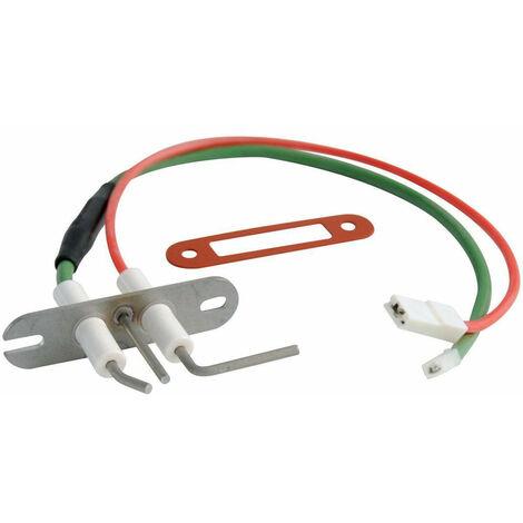 Electrode d'allumage et d'ionisation tous modele 93.26->2000, FRISQUET Ref.F3AA40277