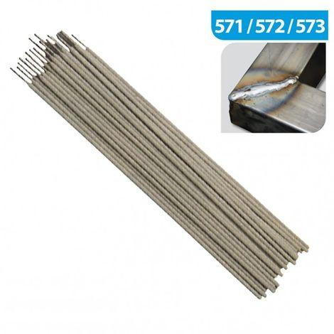 Electrode de soudure RUTILE E 6013 dia 2.5 x 350 mm - boite de 2.5 kg