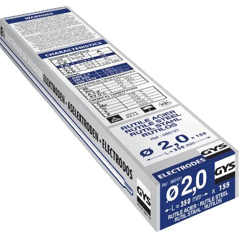 Électrode Gys 2x350 mm