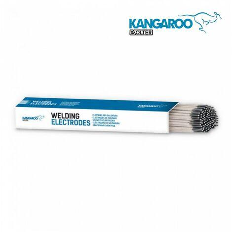 ELECTRODE INOX E316L DIAM 2.5MM PAQUET 2KG (114 UNITES) KANGAROO DE SOLTER