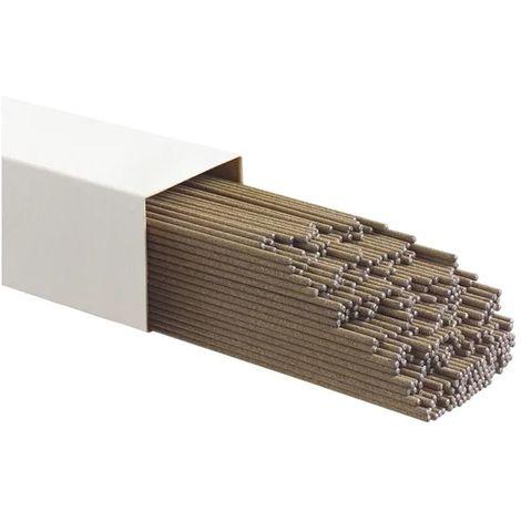 Electrode rutile 4 x 350mm Boite de 6Kg Baguettes soudure traditionnelles toutes positions MMA E6013 FUSIONPOINT