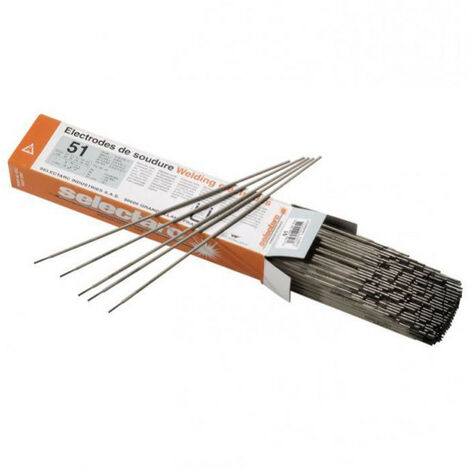Electrode rutile 51 SELECTARC - plusieurs modèles disponibles