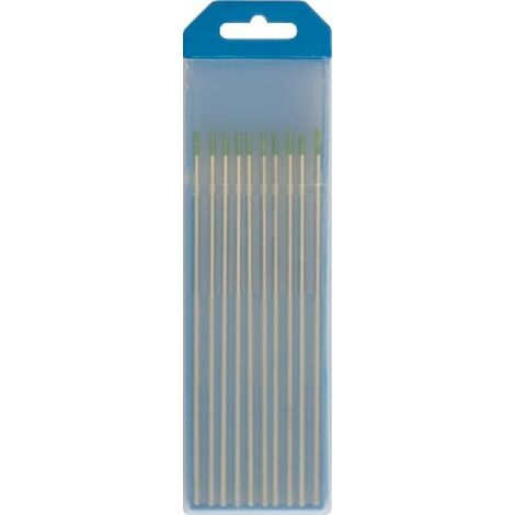 Electrode Wolf D3,2 mm vert Emballage 10 Pieces