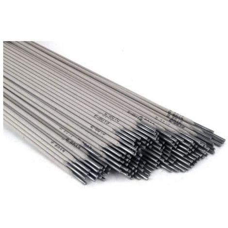 Electrodes acier 3.2mm.10 pièces baguette enrobée rutile soudure arc - Conditionnement: 12 pièces