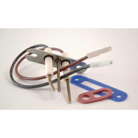 Electrodes d'allumage + ionisation BICERAME 03, FRISQUET, Ref. F3AA40669