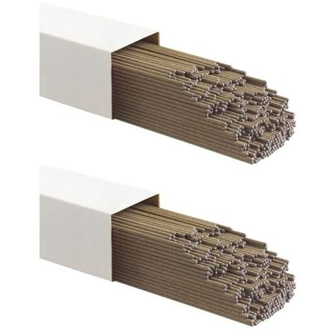 Electrodes de soudure Acier 3.2 x 350mm 6 kg 204 Pièces Baguettes traditionnelles toutes positions MMA E6013 FUSION
