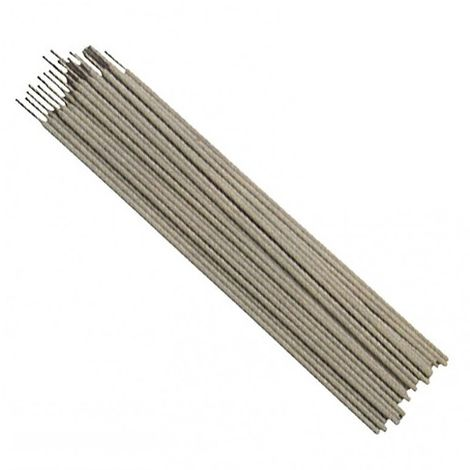Electrodes de soudure inox E 316-L D. 3,2 mm largeur 350 mm 1 kg - 573.32.01 - Leman - -