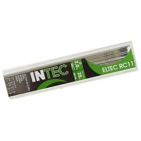Electrodes rutile 2 x 350mm-Baguette soudure à l'arc Acier-baguettes enrobées-soudage mma-blister 25 pièces