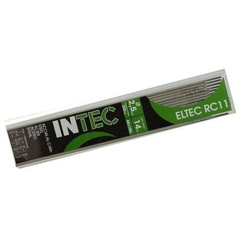 Electrodes rutile 2.5 x 350mm-Baguette soudure à l'arc Acier-baguettes enrobées rutile-soudage mma- blister 14 pièces
