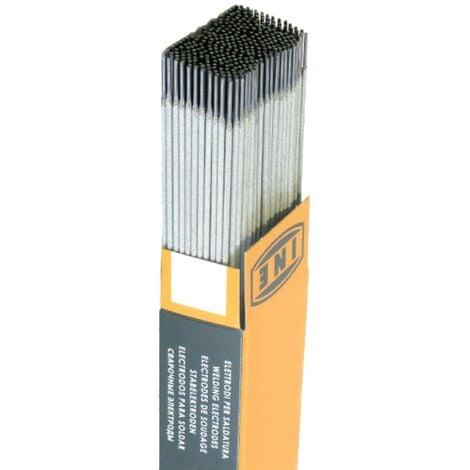 Electrodes rutile 3.2x350mm Boite 2.5 kg 88 Baguettes traditionnelles soudure à l'arc Acier enrobées