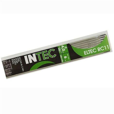 Electrodes rutile 4x350mm Baguette soudure à l'arc Acier baguettes enrobées blister 6 pièces