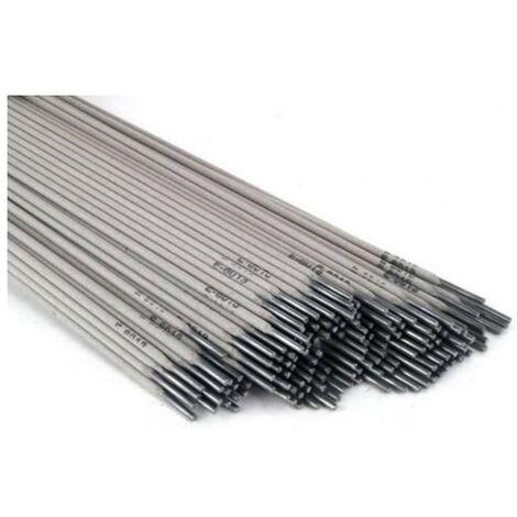 Electrodes soudure Acier 2.5 x 350mm Itools 12 Baguettes soudure à l'arc Acier-baguettes enrobées MMA