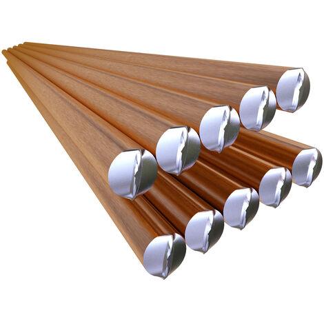 Electrodo de alambre de soldadura solido 70S-6, varilla de soldadura de gas CO2 Ar de acero dulce de 2,4 mm * 330 mm, sin necesidad de polvo de soldadura