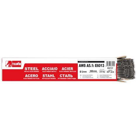 Electrodo en paquetes RUTILOS ACERO AWS A5.1: E6013