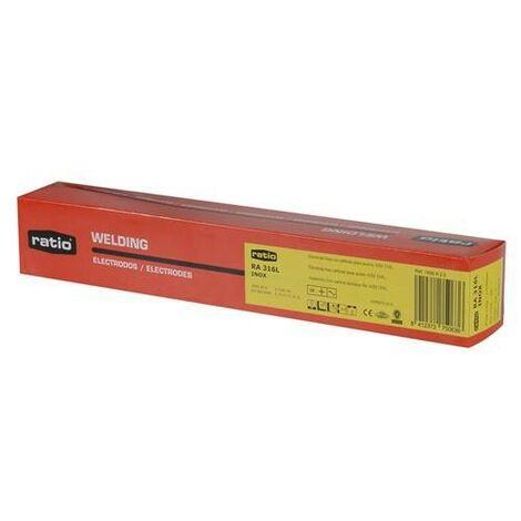 Electrodo soldadura acero inox 136l ratio - varias tallas disponibles