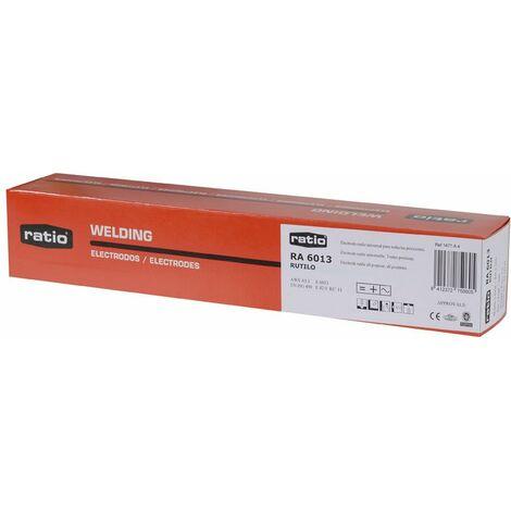 Electrodos de soldadura rutilo ratio - varias tallas disponibles