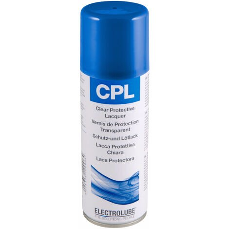 Electrolube CPL200H Clear Protective Lacquer 200ml