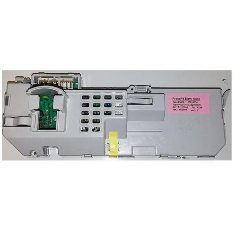 Electrolux 1256840503 Module not configured Dryer