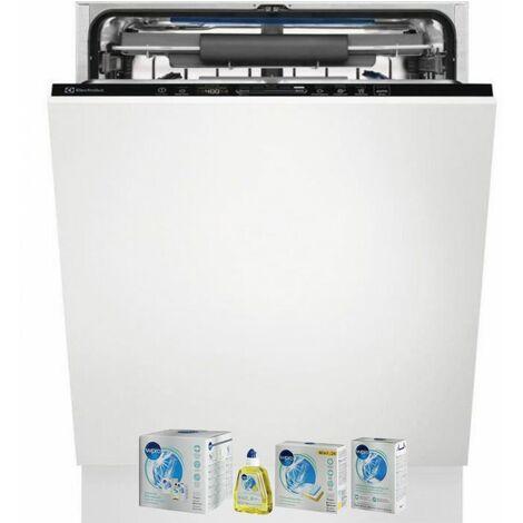 ELECTROLUX Lave-vaisselle tout intégrable encastrable 46dB 15 couverts 60cm Tiroir à couverts
