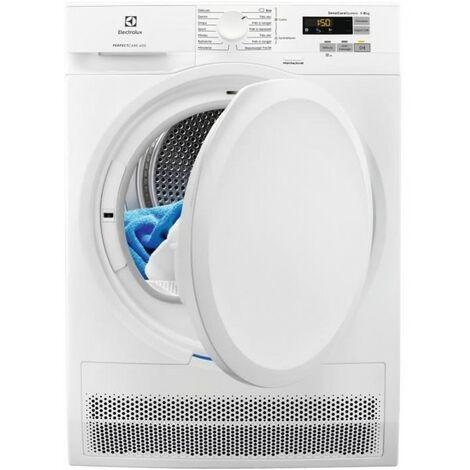 ELECTROLUX Sèche-linge Frontal Condensation 8kg SensiCare Départ Diffèré - Blanc