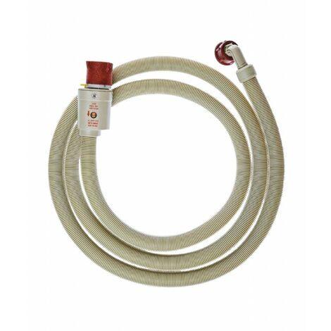 ELECTROLUX Tuyau d'arrivé 3/4 pouces Droit - 3/4 '' Coudé 60 bar 90 °C 1.50 m Détecte fuite