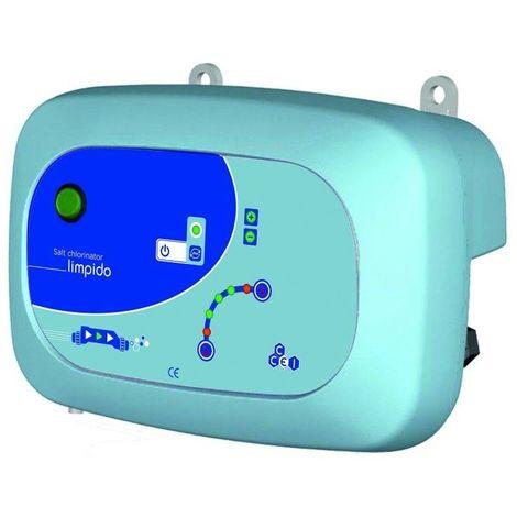 Électrolyseur de sel Limpido 100 - pour piscine jusqu'à 100 m³ - CCEI