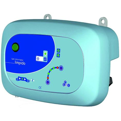 Lectrolyseur de sel limpido 60 ccei pour piscine jusqu 39 60 m pf10l035 - Electrolyseur de sel pour piscine ...