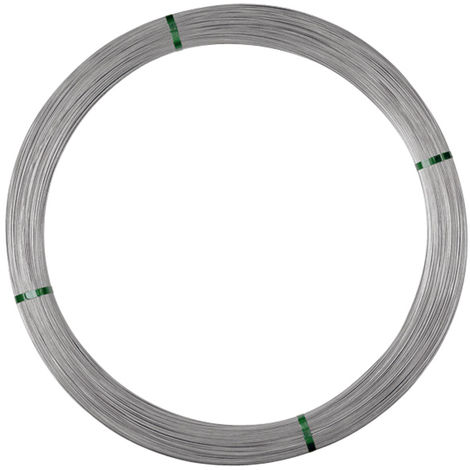 Electromax zinc-aluminium wire for permanent fences 2.65 mm 600 m