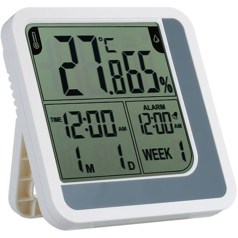 Electronic indoor temperature and humidity meter LJ390 without battery delivery