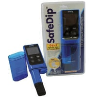 Electronic pool and spa tester - safedip