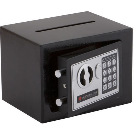 """main image of """"Electronic Digital Home Money High Security Steel Safe With Posting Slot"""""""