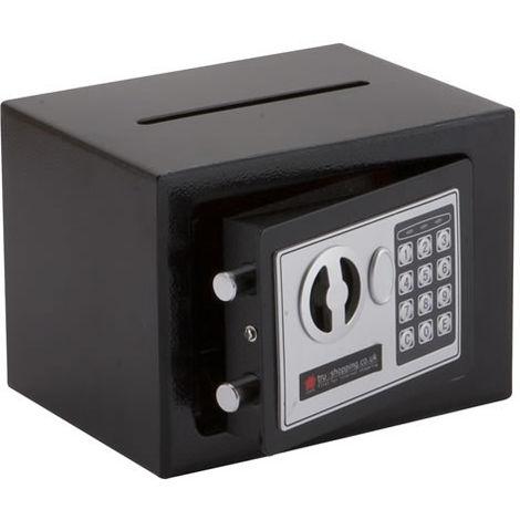 Electrónico dinero de acero de seguridad