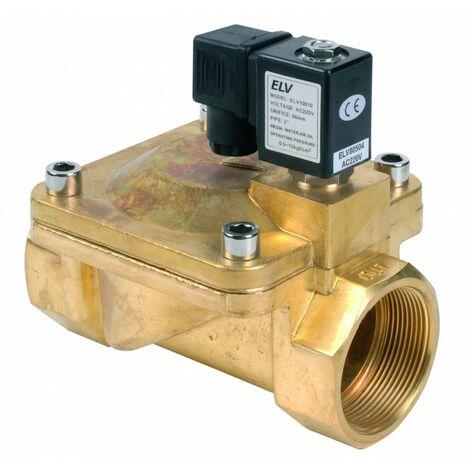 Electrovanne bronze 2'' NF action indirecte