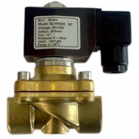 Electrovanne chauffage 230V 15x21