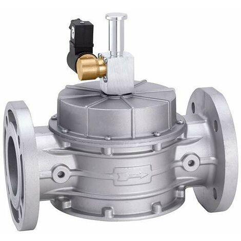 Électrovanne de gaz, normalement ouvert, à réarmement manuel caleffi 839