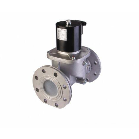 Electrovanne gaz automatique NF Aluminium brides DN100 360mBar
