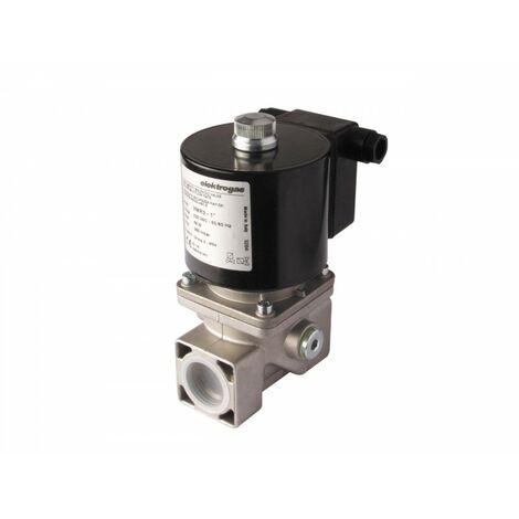 """Electrovanne gaz automatique NF laiton 1/2"""" 200mBar"""