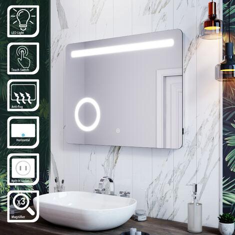 ELEGANT LED Illuminated Bathroom Mirror with Light