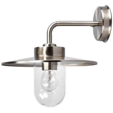 Elegant outdoor wall lamp Joscha
