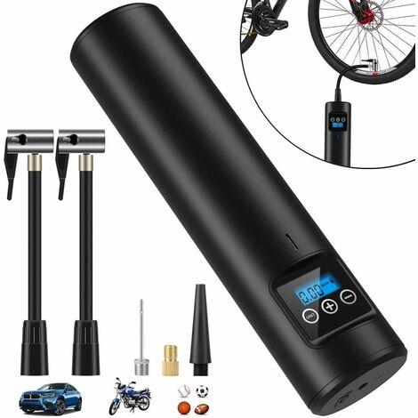 Elektrische Digitale Reifenpumpe mit 2000mAh Akku 150PSI Fahrradluftpumpe Kompressor