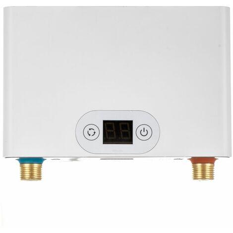 Elektrischer Klein Durchlauferhitzer Übertisch 3,5 5,5 7 kW 230V Mini Küche Bad Untertisch Gerät