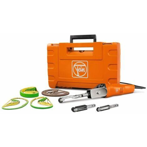 Elektro Bandfeile BF 10-280 E Start-Set inkl. Zubehör