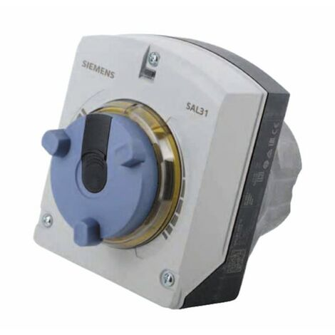 Elektromotorischer Drehantrieb SAL31.00T10, 10 Nm, 90°, AC 230 V, 3P, 120 s - SIEMENS: SAL31.00T10