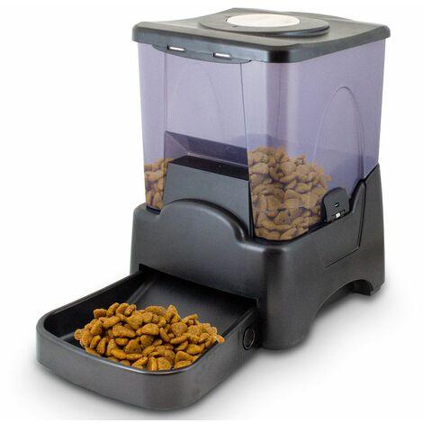 Elektronischer Futterautomat Futterspender Futternapf Futterstation für Katzen Hunde