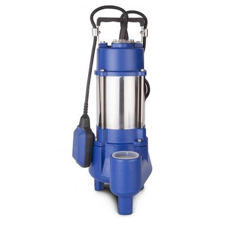 ELEM PUMPS PRO PVG100 - Bomba sumergible vórtex profesional para agua sucia en acero inoxidable / hierro fundido 1,0 hp 230v