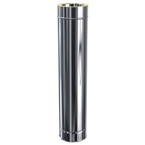 Elément 1000 / utile 940mm double paroi Ø80 - Elément 1000 / utile 940 mm - DPI - diamètre 80 mm
