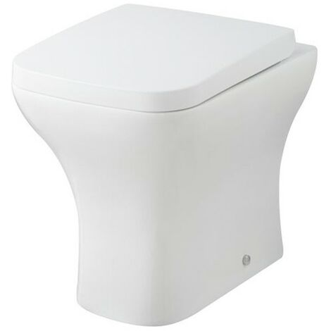 Element Back to Wall WC Pan & Soft Close Seat