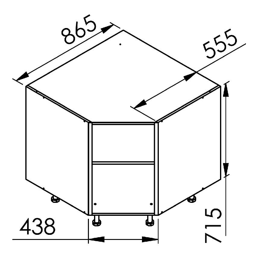 Element Bas Angle Pan Coupe L40xh71 5xp56 3 17